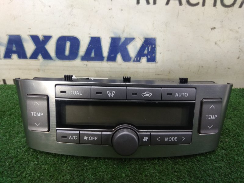 Климат-контроль Toyota Avensis AZT250W 1AZ-FSE 2003 Электронный, двухзонный. С фишками. Правый