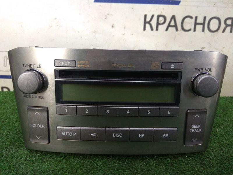 Магнитола Toyota Avensis AZT250W 1AZ-FSE 2003 TOYOTA 50816, CQ-JS6600A MP3/WMA / (радио FM-диапазон для Японии)