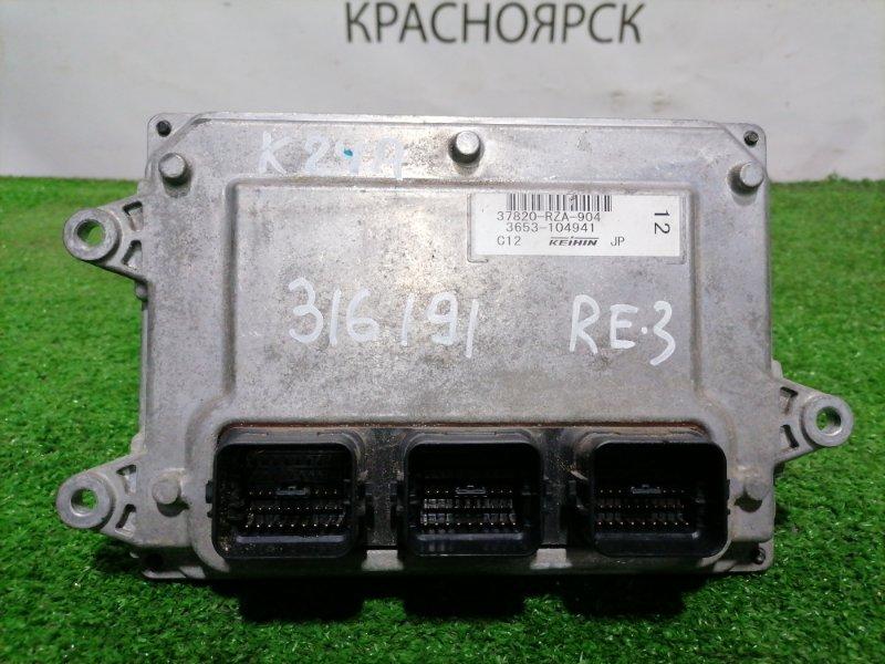 Компьютер Honda Cr-V RE3 K24A 2006 блок управления ДВС