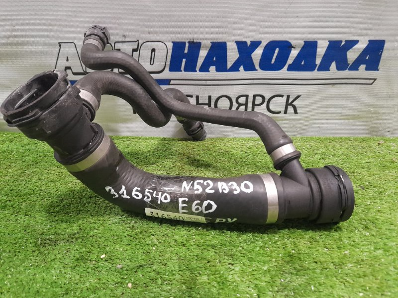 Патрубок тосольный Bmw 530I E60 N52B30 2003 верхний радиатора верхний