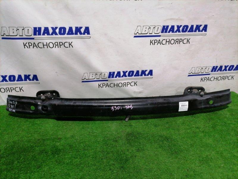 Усилитель бампера Bmw 530I E60 N52B30 2003 задний задний швеллер