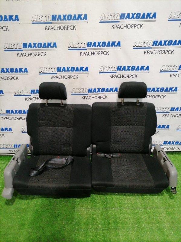 Сиденья Toyota Voxy AZR60G 1AZ-FSE 2004 задняя Третий рад сидений 2 штуки. Трансформер. Черная