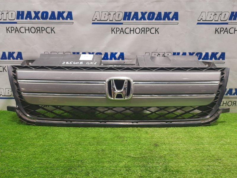 Решетка радиатора Honda Mobilio Spike GK1 L15A 2005 2-й рестайлинг, незначительные потёртости.