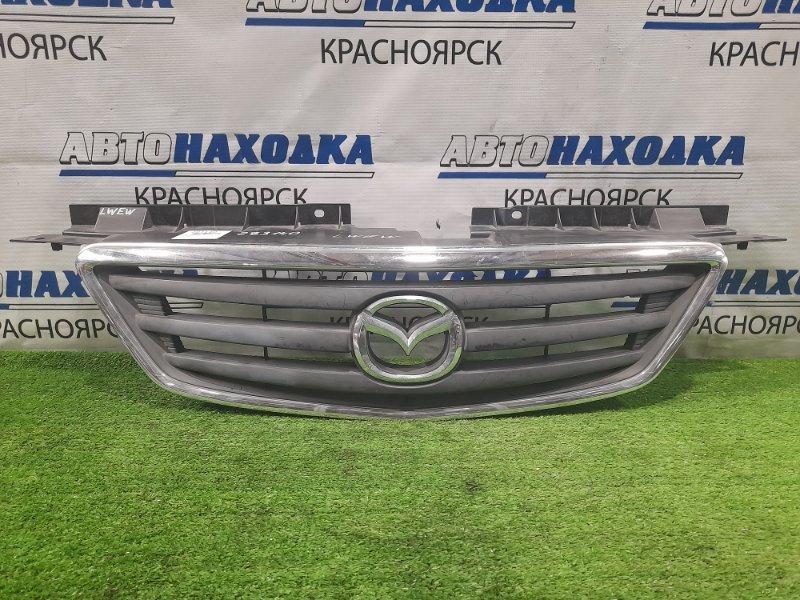 Решетка радиатора Mazda Mpv LWEW FS 1999 дорестайлинг