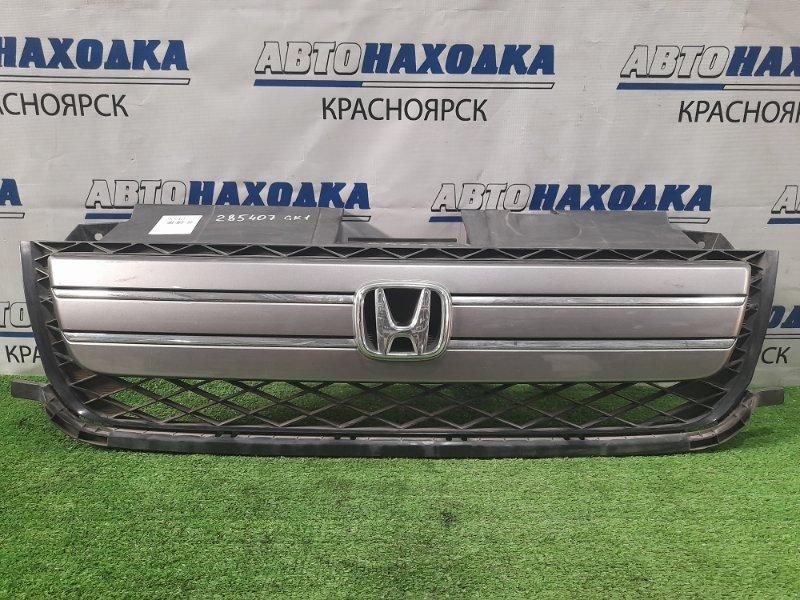 Решетка радиатора Honda Mobilio Spike GK1 L15A 2005 2-й рестайлинг, 71121-SEY-903, незначительные