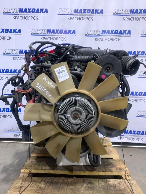 Двигатель Chevrolet Blazer CT34G L35 1998 L35 V6, 4.3L пробег 98 т.км. 2001 г.в. В ХТС. С аукционного авто. В