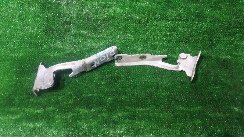 Петля капота, кронштейн капота Mitsubishi Dion CR9W 4G93 передняя КОМПЛЕКТ