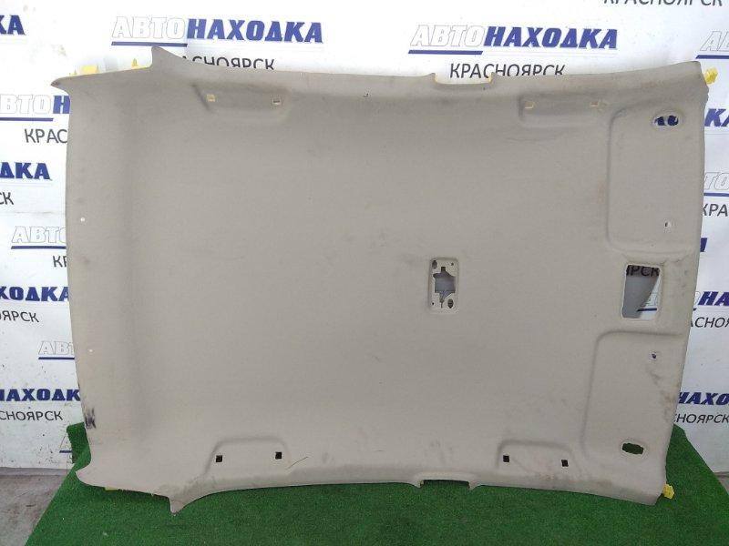 Обшивка крыши Toyota Belta KSP92 1KR-FE 2005 код салона FB40, есть заломы, под чистку