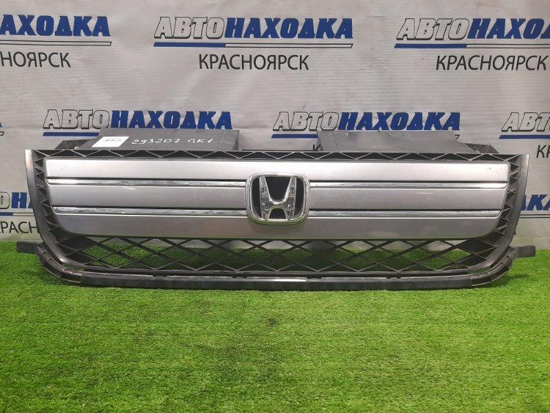 Решетка радиатора Honda Mobilio Spike GK1 L15A 2005 2-й рестайлинг, незначительные потёртости