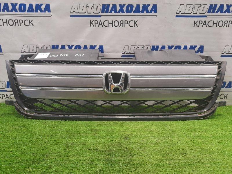 Решетка радиатора Honda Mobilio Spike GK1 L15A 2005 2-й рестайлинг, потёртости