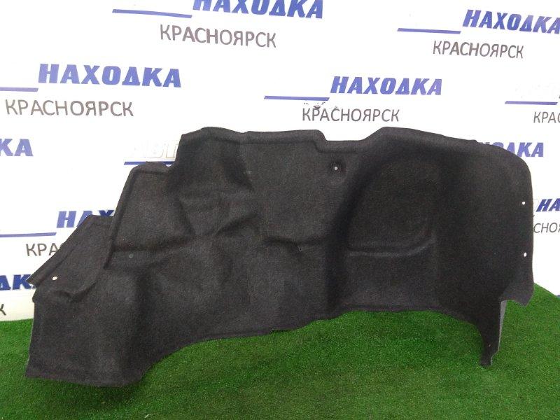 Обшивка багажника Toyota Vista ZZV50 1ZZ-FE 1998 задняя правая ХТС, правая боковая, черная / седан