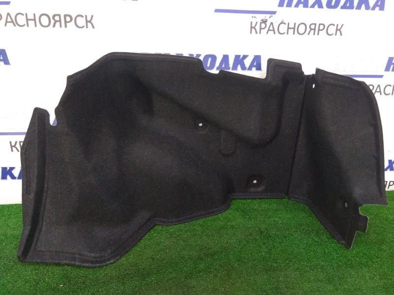 Обшивка багажника Nissan Primera QP12 QG18DE 2001 задняя правая ОТС, правая боковая, черная, седан /