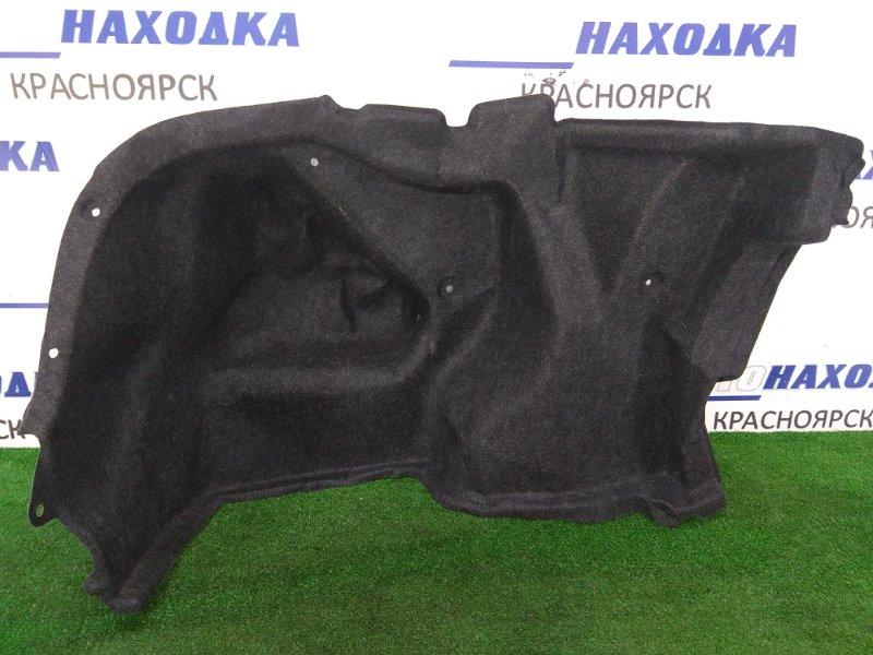 Обшивка багажника Toyota Belta KSP92 1KR-FE 2005 задняя левая ХТС, левая боковая, черная