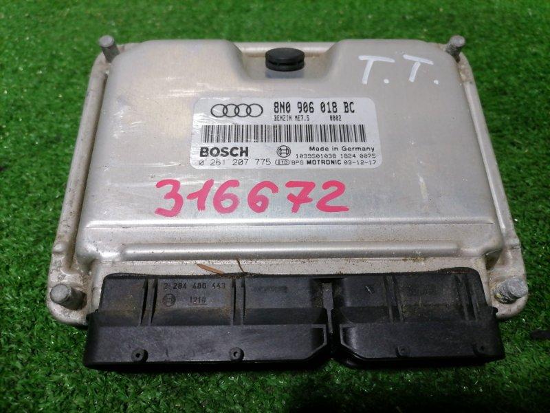 Компьютер Audi Tt 8N3 AUQ 1998 блок управления ДВС