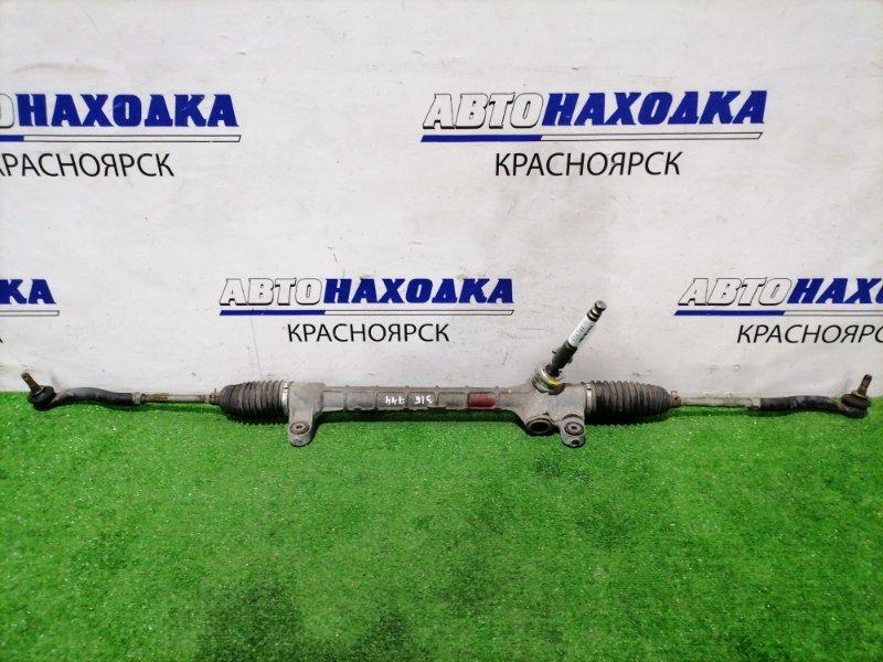 Рейка рулевая Toyota Isis ANM10G 1AZ-FSE 2004 сухая, в сборе с тягами и наконечниками, ХТС с