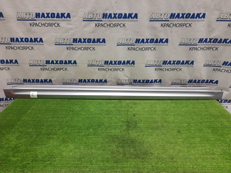 Порог Subaru Legacy BRG FA20 2012 правый правый, серебристый, потёртости