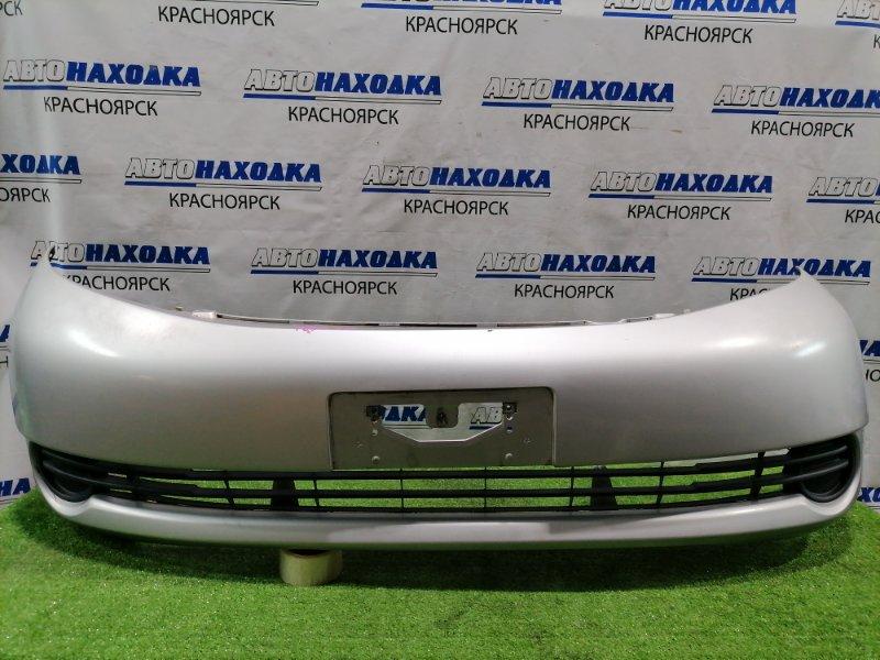 Бампер Toyota Isis ANM10G 1AZ-FSE 2004 передний Передний, дорестайлинг, с заглушками, цвет 1F7, в ХТС.