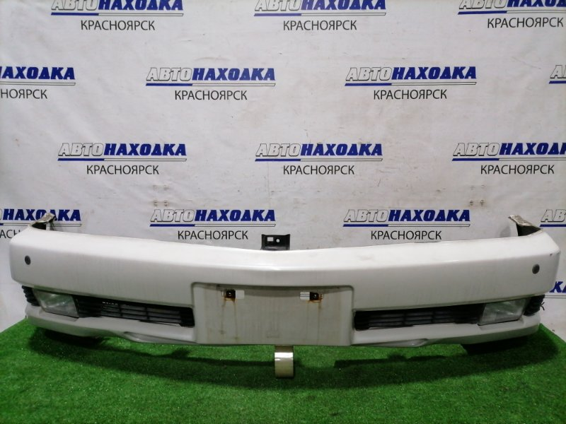 Бампер Mitsubishi Diamante F34A 6A13 1997 передний передний, с туманками (114-87117), парктрониками,