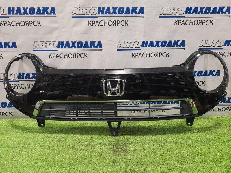 Решетка радиатора Honda N-One JG1 S07A 2012 дорестайлинг, незначительная потёртость над