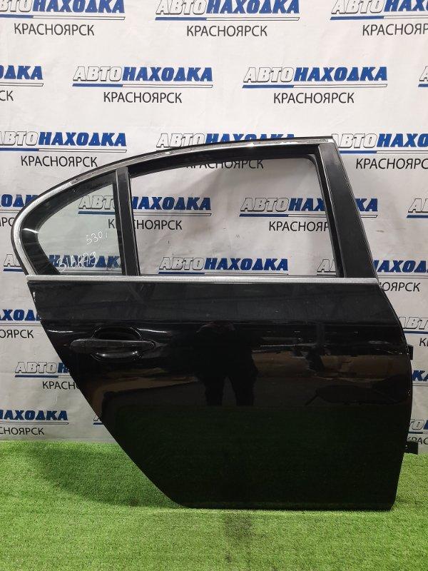 Дверь Bmw 530I E60 N52B30 2003 задняя правая Задняя правая, седан. Есть мелкие сколы краски.