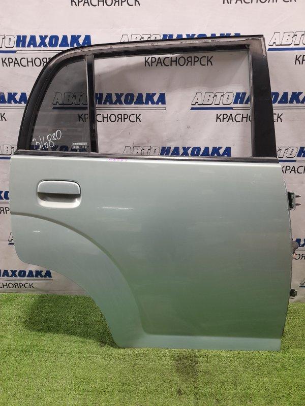 Дверь Mazda Carol HB24S K6A 2004 задняя правая Задняя правая. Есть сколы на канту двери (см. фото).