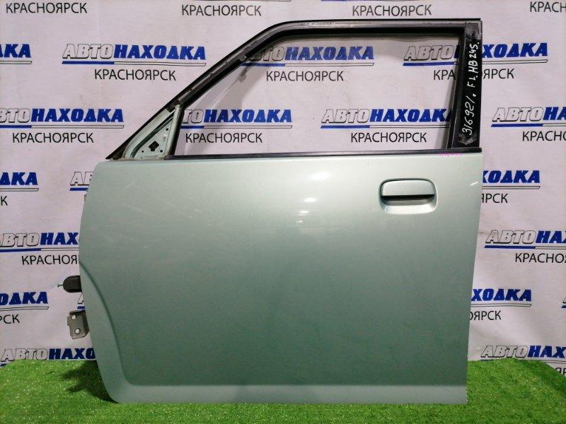 Дверь Mazda Carol HB24S K6A 2004 передняя левая Передняя левая, без стекла. Есть сколы на канту