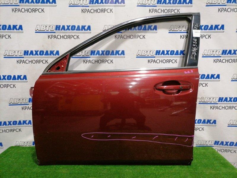 Дверь Subaru Legacy BR9 EJ25 2009 передняя левая Передняя левая, без стекла, стеклоподъемника и
