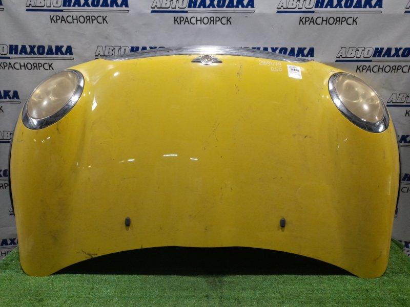 Капот Mini Cooper R50 W10B16A 2001 передний в сборе с фарами (галоген), с решёткой, с фендерами,