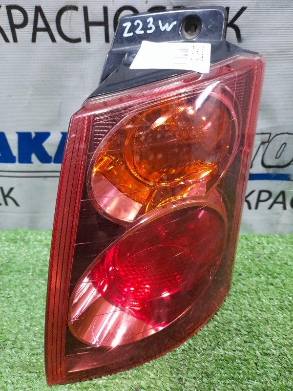 Фонарь задний Mitsubishi Colt Plus Z23W 4A91 2004 задний правый P4600 правый, красное стекло, P4600,