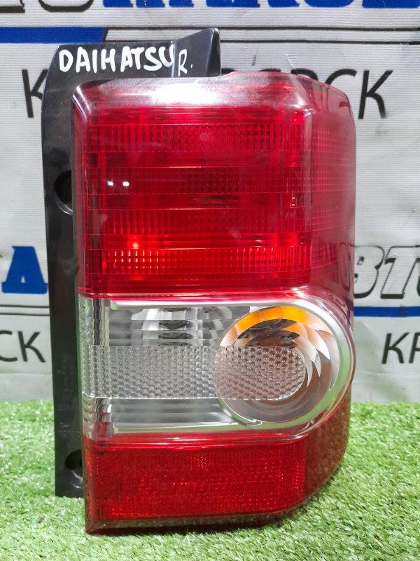 Фонарь задний Daihatsu Move Conte L575S KF 2008 задний правый 20508 правый, 20508,