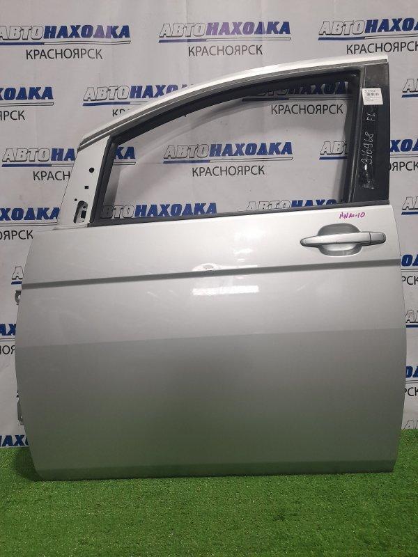 Дверь Toyota Isis ANM10G 1AZ-FSE 2004 передняя левая Передняя левая, цвет 1F7. Есть царапинка (см. фото)
