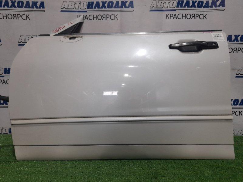 Дверь Mitsubishi Diamante F34A 6A13 1997 передняя левая Передняя левая, цвет W75A. Надломано одно