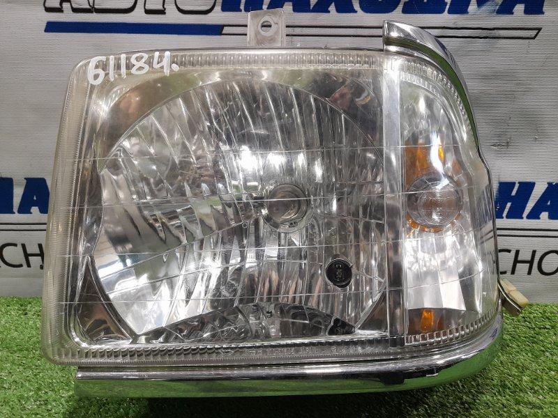 Фара Daihatsu Atrai S220G EF-VE 1999 передняя левая 100-51645 левая, галоген, 100-51645, комплектация CUSTOM,