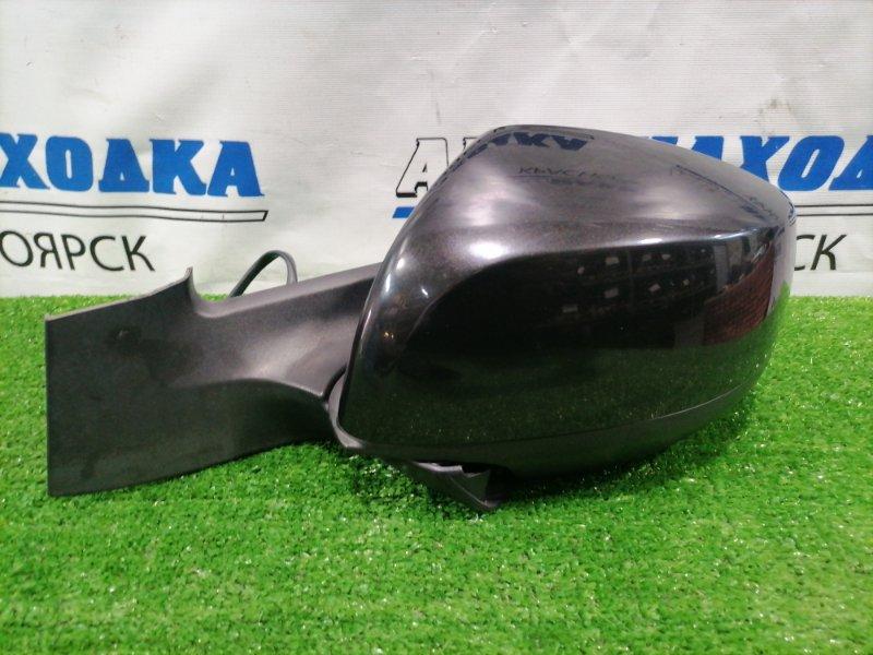 Зеркало Suzuki Splash XB32S K12B 2008 переднее левое Левое, 5 контактов. Есть потертость до пластика.