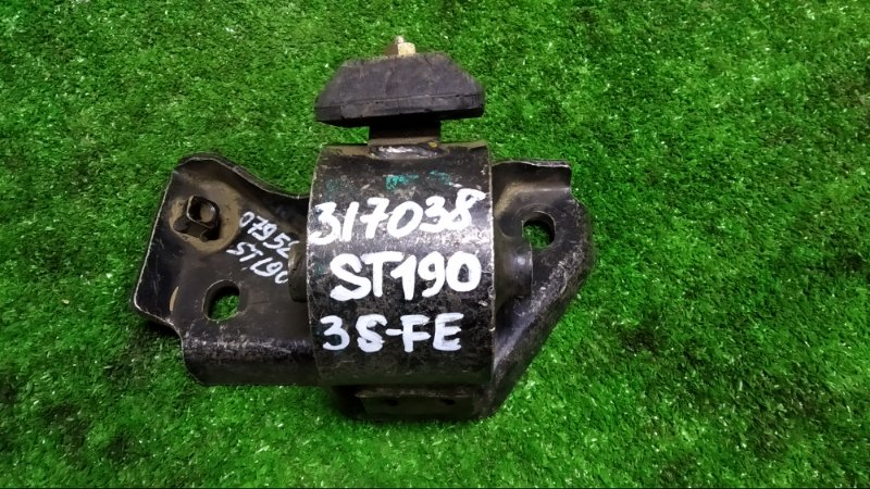 Подушка кпп Toyota Corona ST190 3S-FE передняя левая 12372-74390