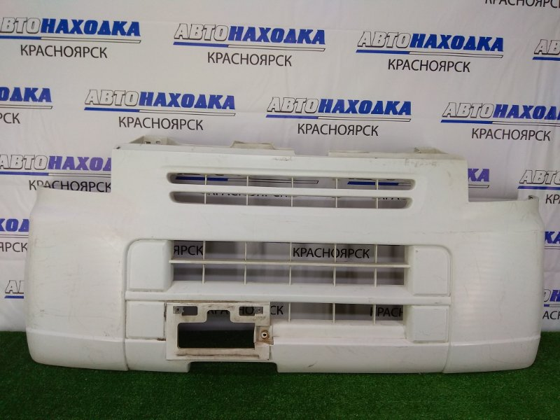 Бампер Suzuki Every DA64V K6A 2005 передний передний, белый, потертости, царапинки