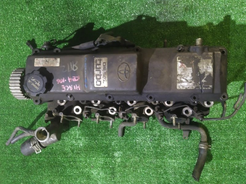 Головка блока цилиндров Toyota Hiace KZH106 1KZ-TE 58598 ТРЕЩИНЫ в форкамерах ,дефект клапанной