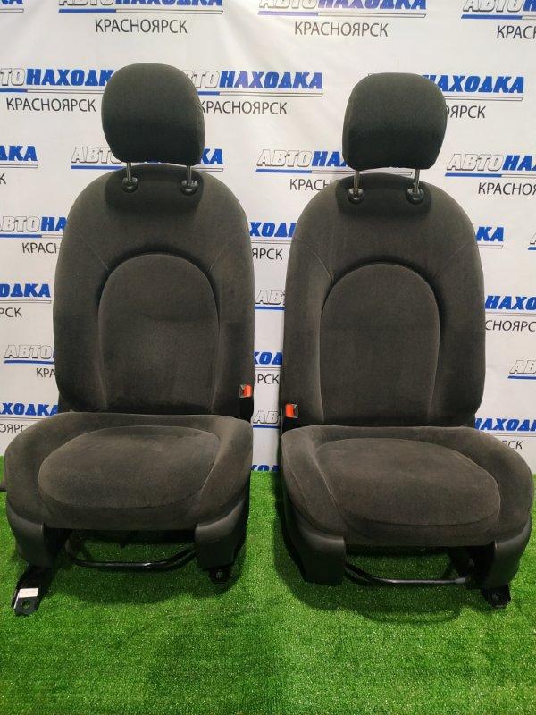 Сиденья Nissan Bluebird Sylphy KG11 MR20DE 2005 передняя Передние, пара. С механическими