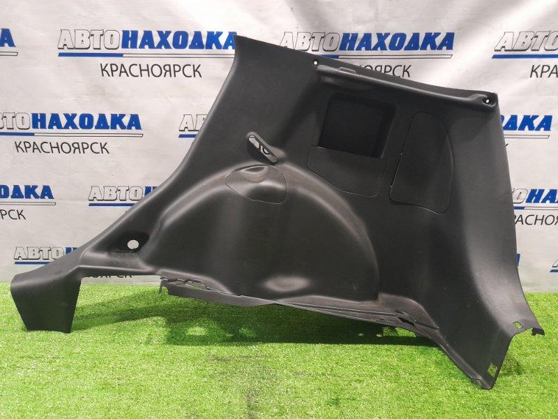 Обшивка багажника Honda Fit GD1 L13A 2001 задняя правая нижняя Задняя правая, черная, под шторку.