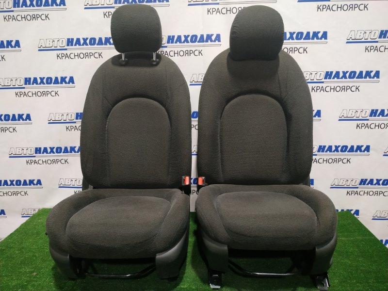 Сиденья Nissan Bluebird Sylphy KG11 MR20DE 2005 передняя Передние, пара, ХТС. С механическими
