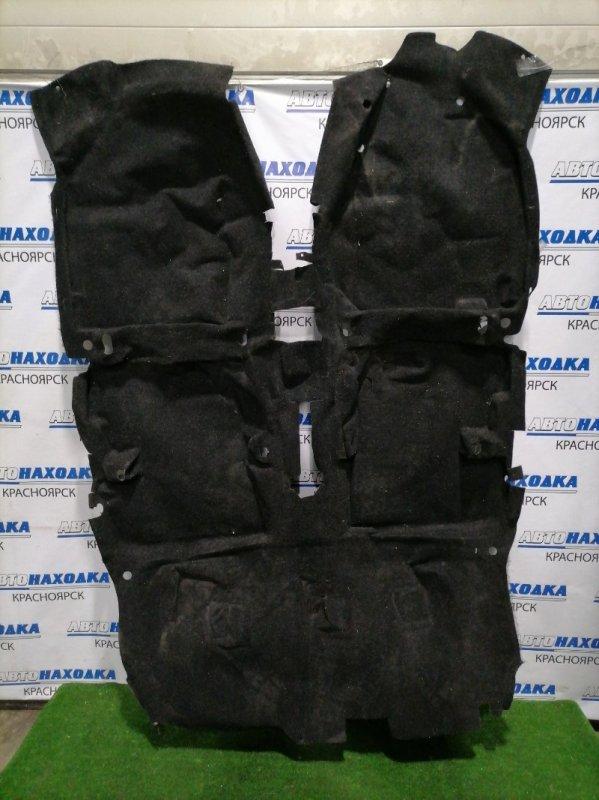 Обшивка пола Suzuki Splash XB32S K12B 2008 ковровое покрытие пола в салон, правый руль
