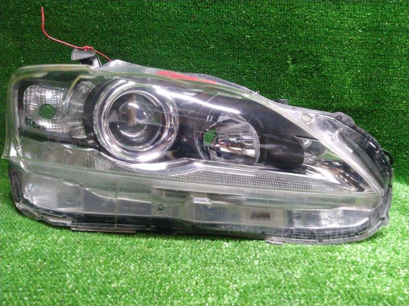 Фара Lexus Ct200H ZWA10 передняя правая 76-5 сломано верхнее ухо