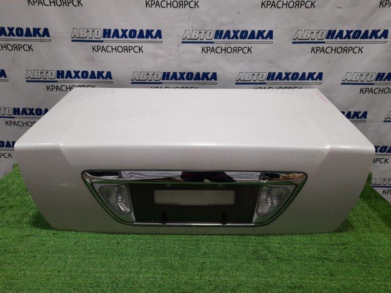 Крышка багажника Mitsubishi Diamante F34A 6A13 1997 задняя цвет W75A, в ХТС