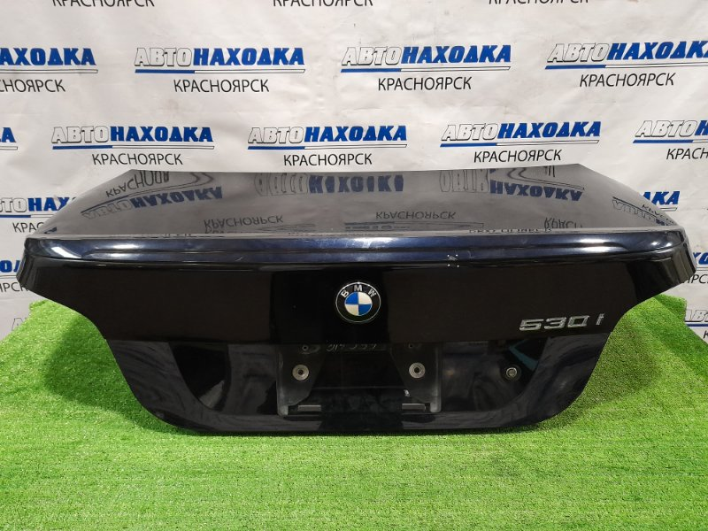 Крышка багажника Bmw 530I E60 N52B30 2003 задняя Есть вмятинка, скол.