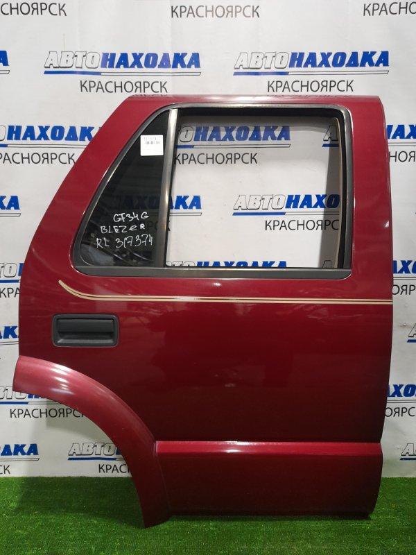 Дверь Chevrolet Blazer CT34G L35 1998 задняя правая Задняя правая. в сборе. В ХТС .