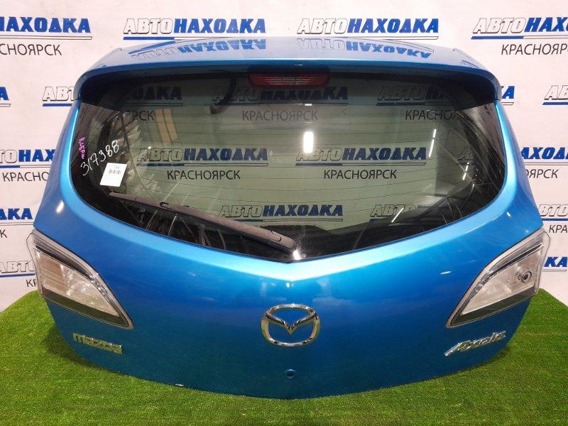 Дверь задняя Mazda Axela BL5FW ZY-VE 2009 в сборе, вставки (P8241), цвет 38j, В ХТС.