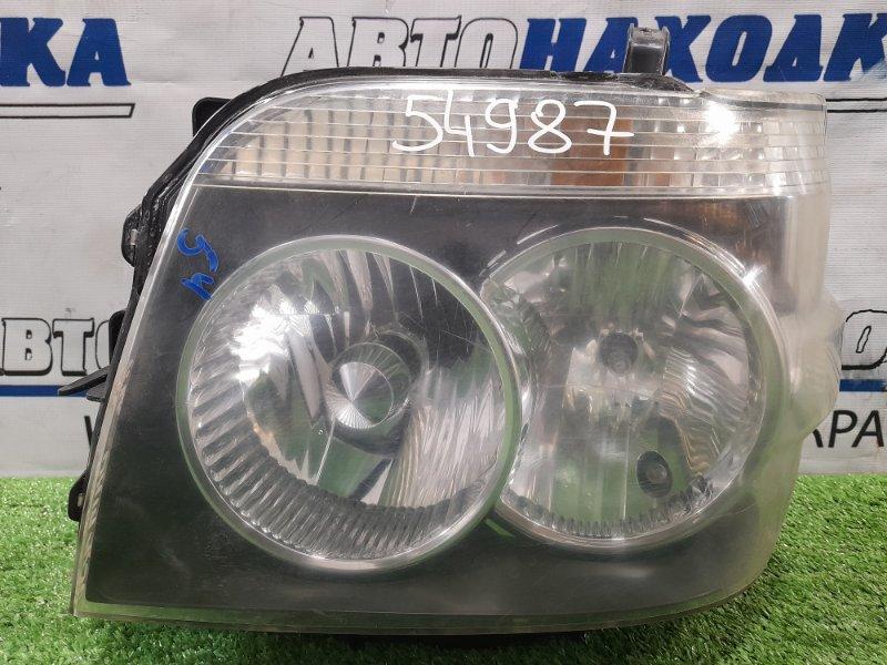 Фара Daihatsu Atrai S330G EF-VE 2005 передняя левая 100-51787 левая, под ксенон, без блока и лампы, с