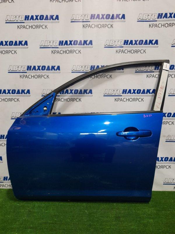 Дверь Mazda Axela BK5P ZY-VE 2003 передняя левая Передняя левая, в сборе, цвет 27B, хэтчбек. Дефект