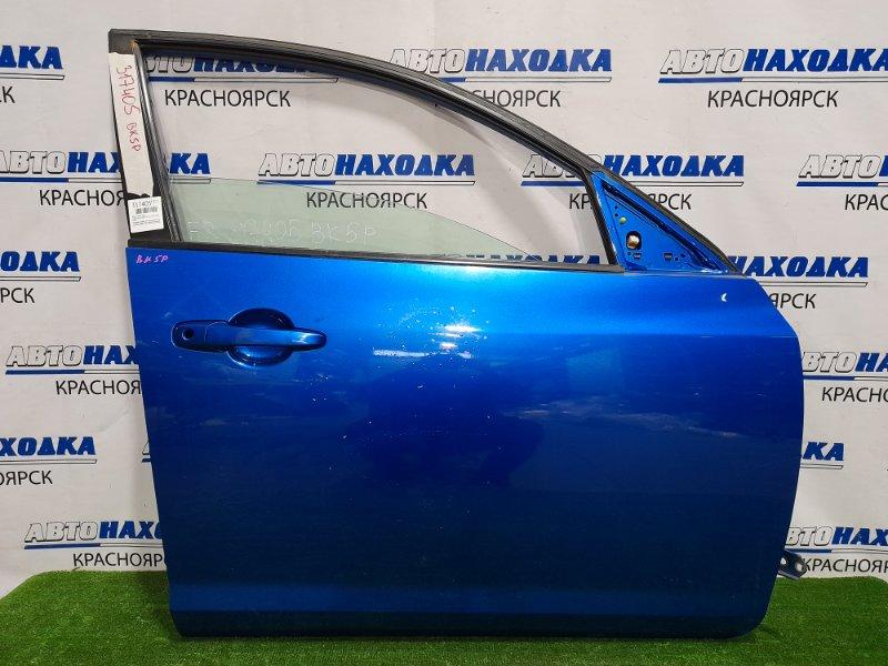 Дверь Mazda Axela BK5P ZY-VE 2003 передняя правая Передняя правая, без замка, цвет 27B, хэтчбек.