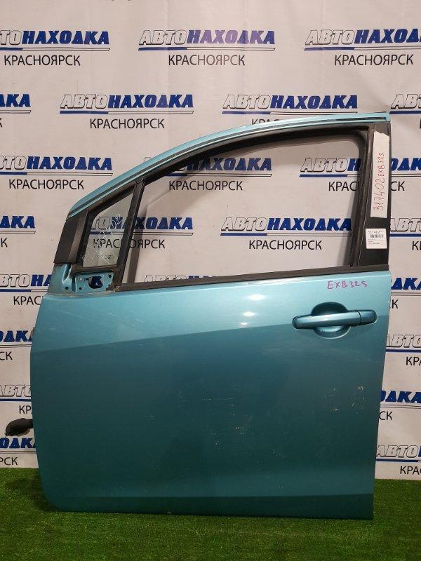 Дверь Suzuki Splash XB32S K12B 2008 передняя левая Передняя левая, в сборе. Есть мелкие сколы со